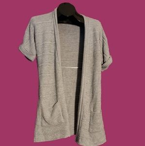 silence + noise Grey Knitted Cardigan size M